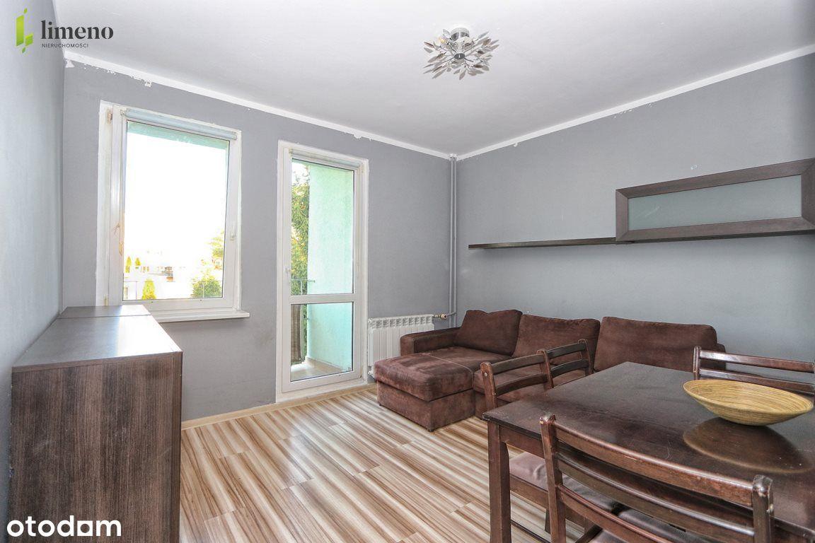 2 pokoje - mieszkanie z loggią + 2 piwnice