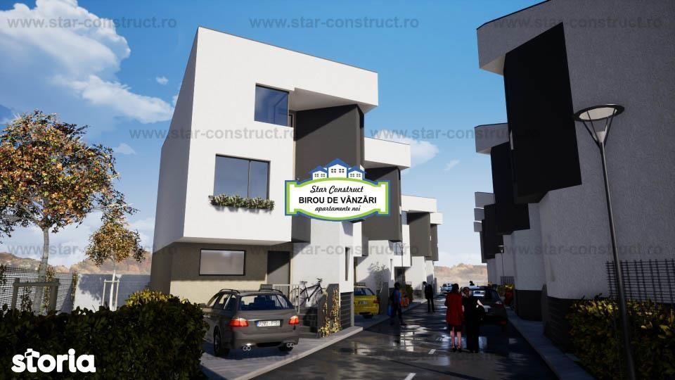 Vila spatioasa, ansamblu rezidential nou, zona linistita