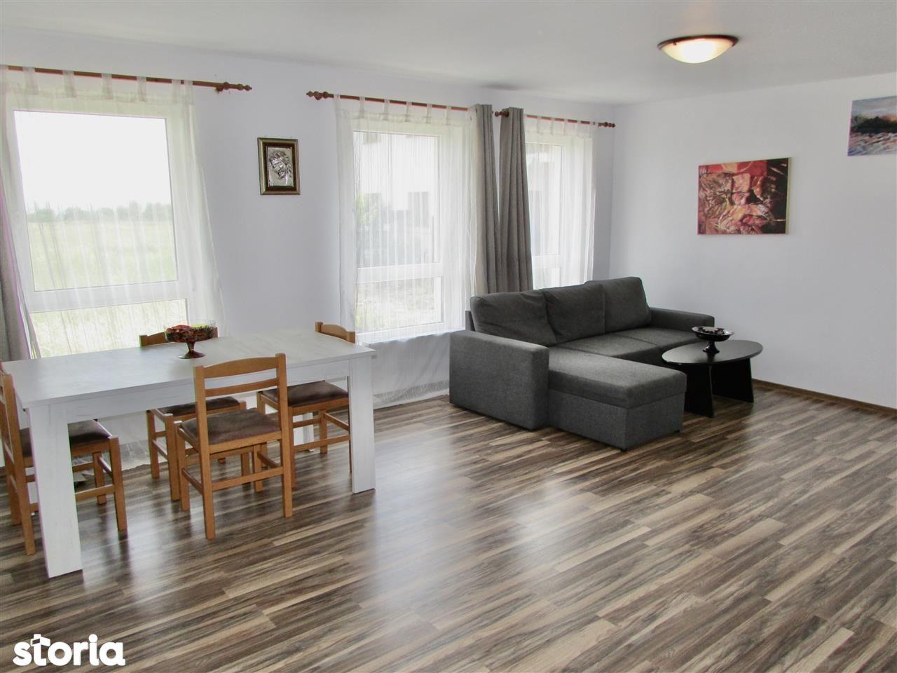 Apartament 3 camere si 2 bai, cu gradina - zona Calea Cisnadiei