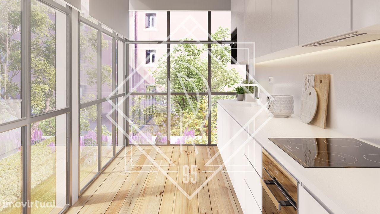 Apartamento T1 com Varanda | República 95 (3.5)
