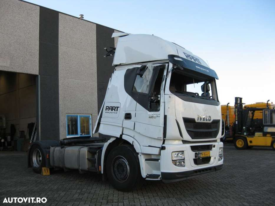 Iveco Stralis 420 + Euro 6 + Engine is perfect! - 3