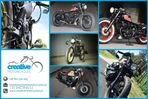 Honda VT Shadow vt 600 Flame Custom Bobber cafe - 11