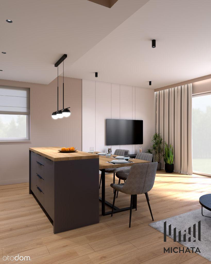 Dom wykończony i wyposażony w wysokim standardzie.