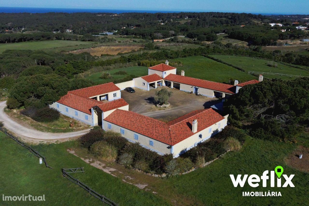 Quinta Rústica (78.846m2) com Cavalariças – em Sintra/Janas