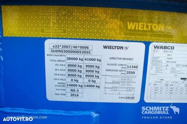 Wielton Semitrailer Container chassis - 10