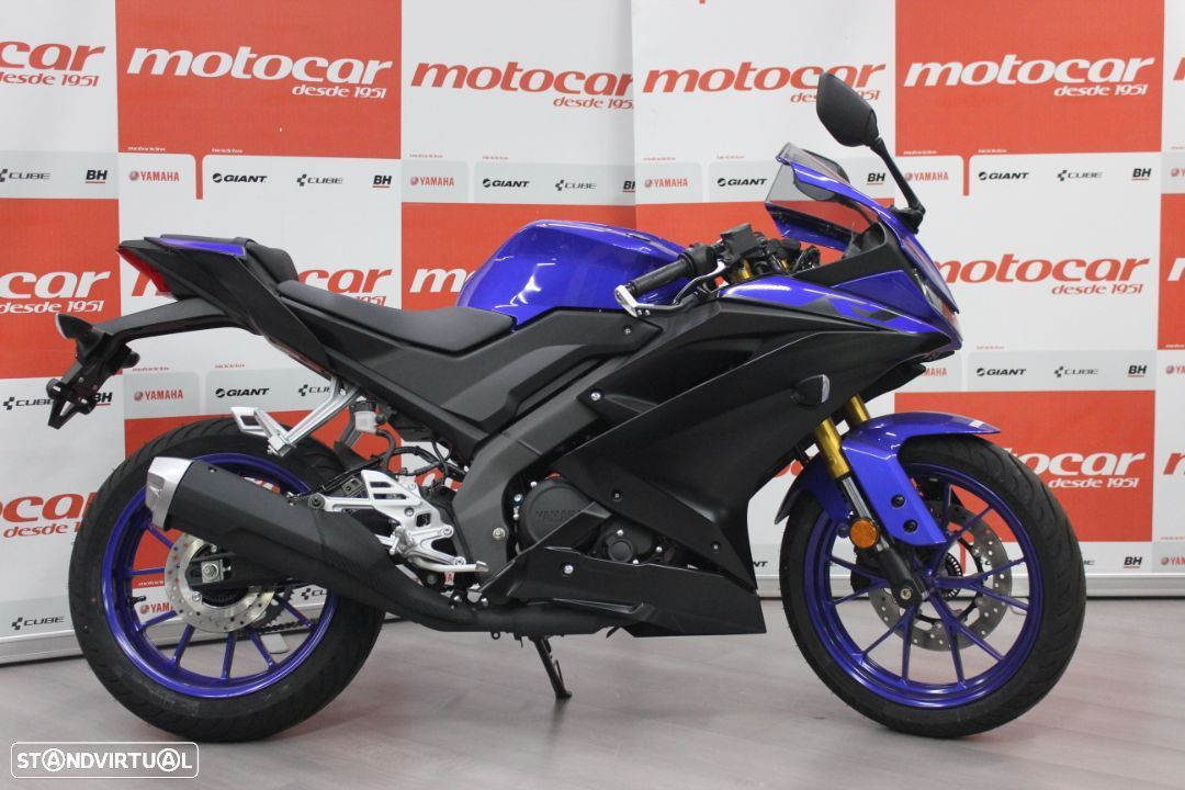 Yamaha R  125 Race Blue - 1