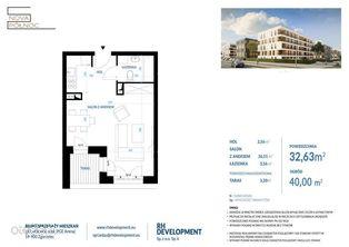 II ETAP - Mieszkanie 32,63 m2 - 1 pok. Zgorzelec