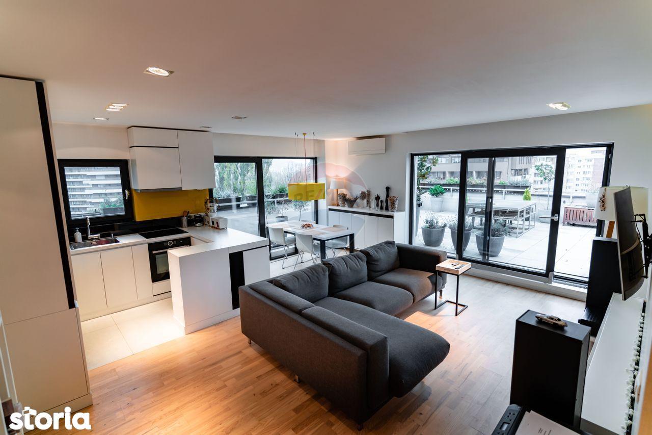 Penthouse |  Plopilor | Terasa 70mp | 2 garaje