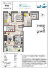 4 pokoje + kuchnia , Wrotków, Os. Marina Etap
