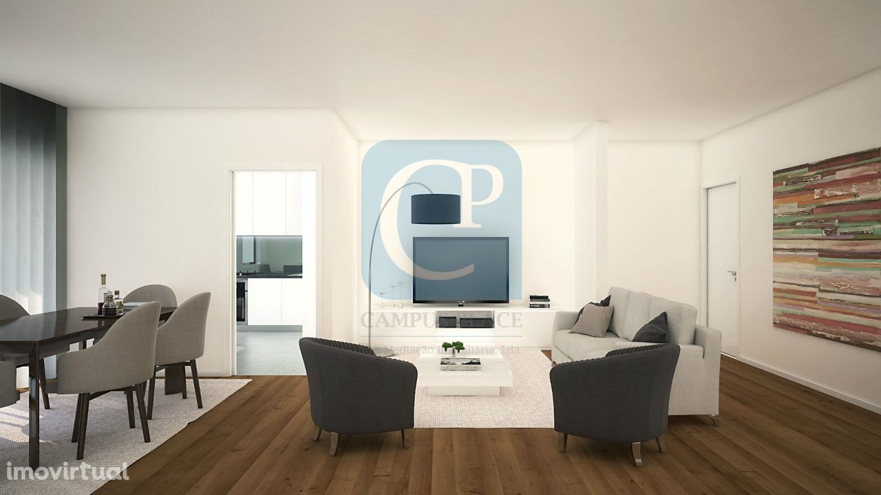 Apartamento T3 no Empreendimento Leça Mar