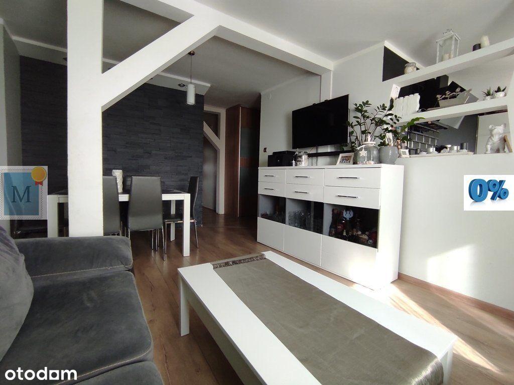 Górnośląska mieszkanie 3pokoje,67m2,poddasze,ogród