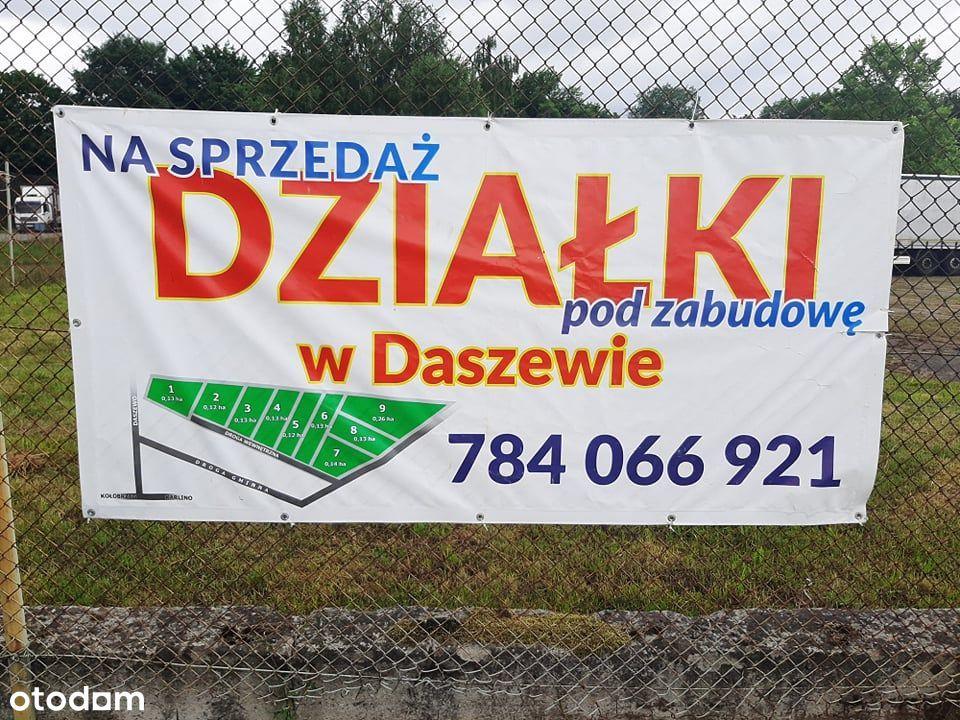 Działki budowlane w Daszewie koło Karlina