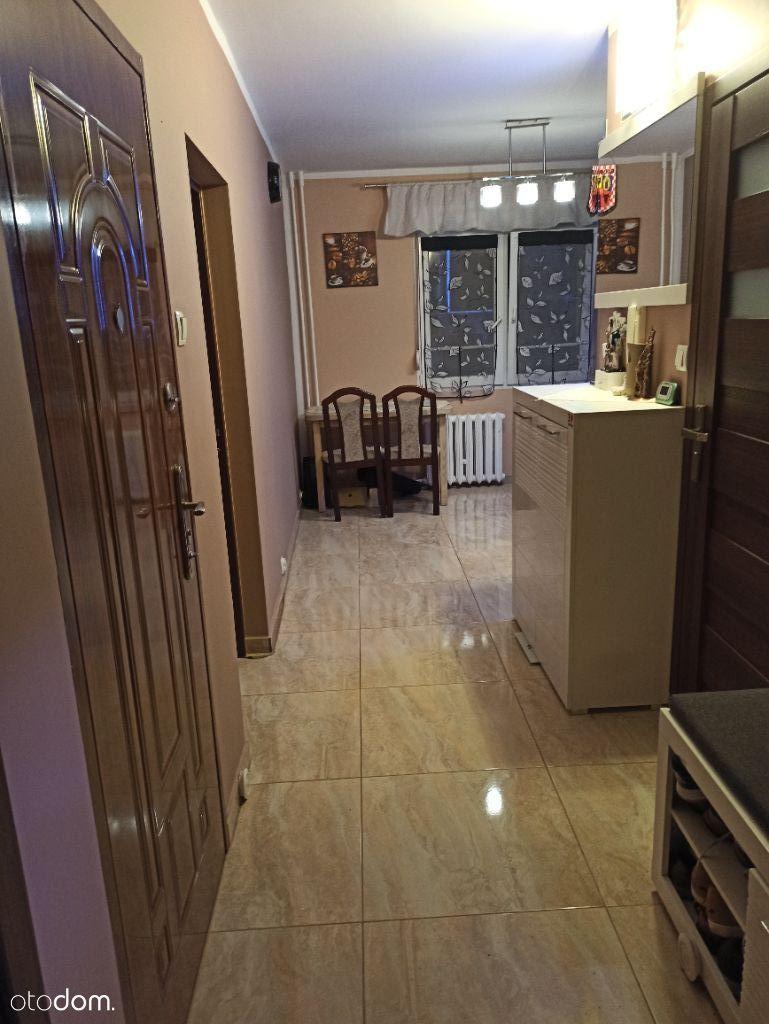 Mieszkanie 52m, dwa pokoje, parter, balkon