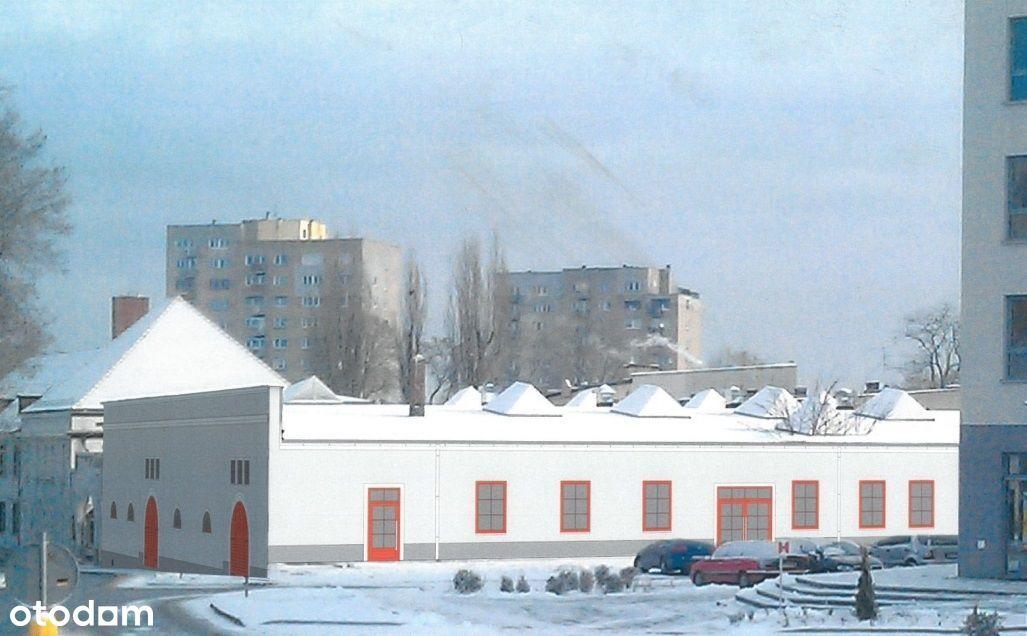 Budynek usługowy w centrum