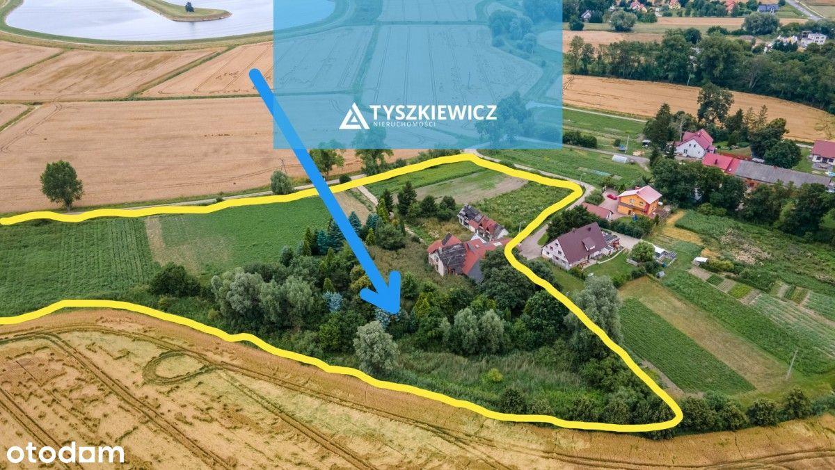 Działki budowlane 9 sztuk-2 hektary pod Gdańskiem