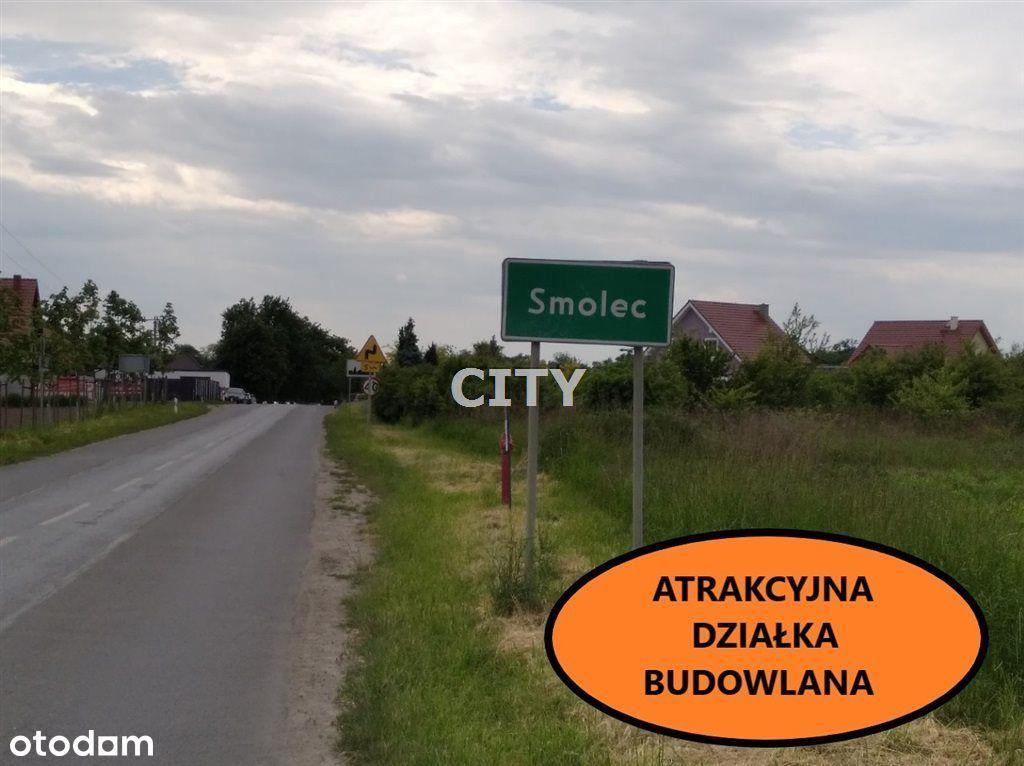 Działka Mieszkaniowo-Usługowa Smolec