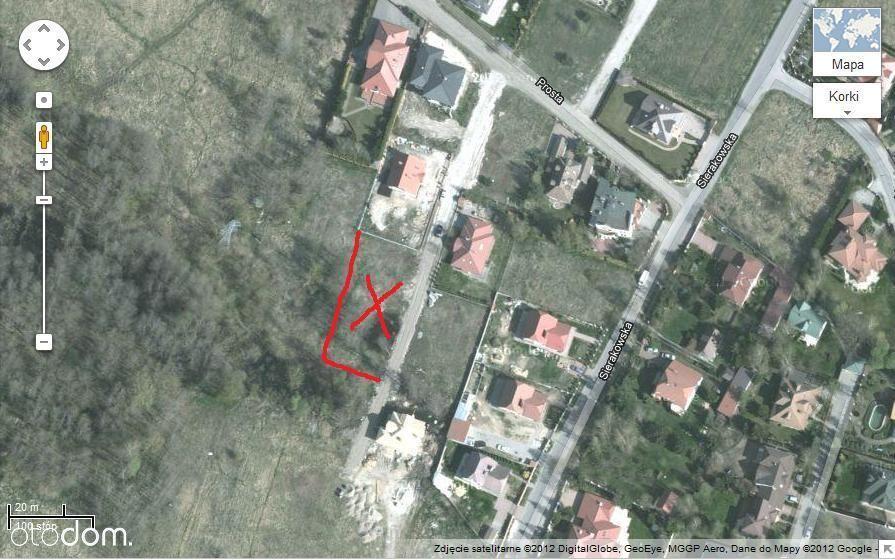 Działka 1077 m², Łomianki Dąbrowa (ul. Prosta 38b)