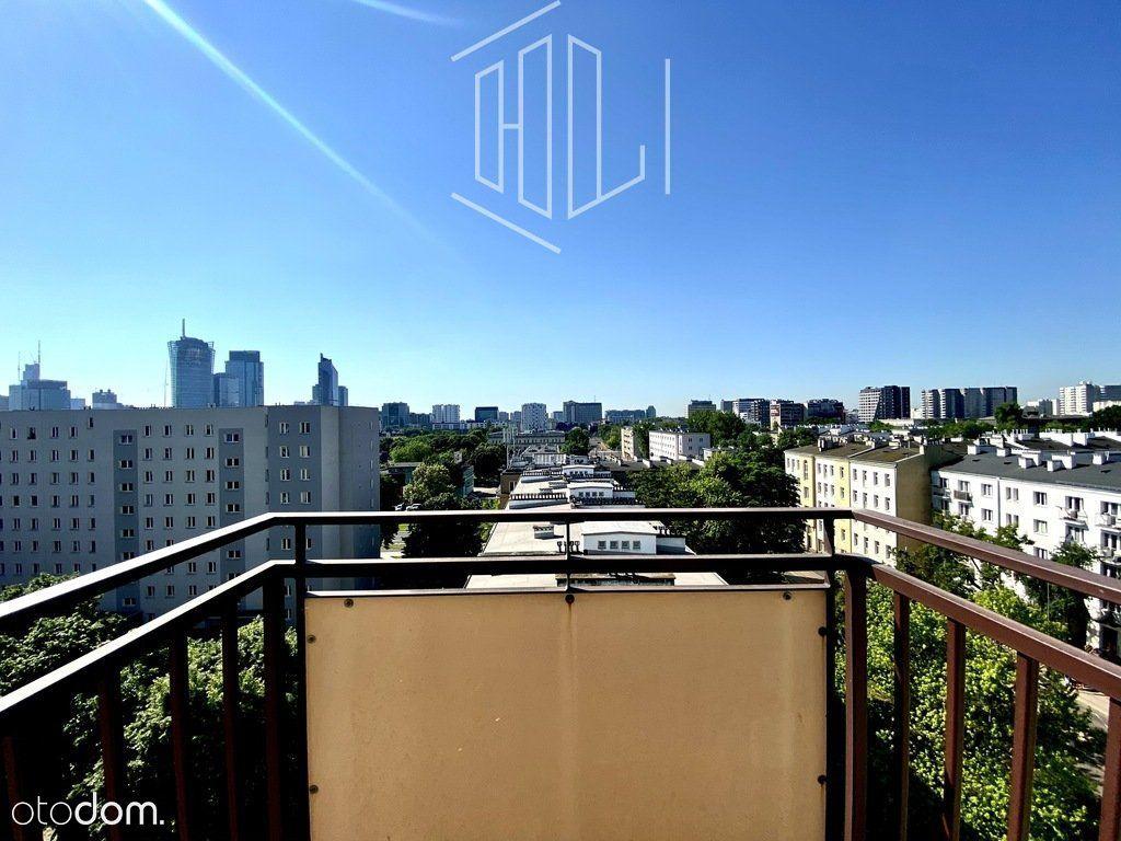 8 piętro, 3km od centrum, panorama wwa
