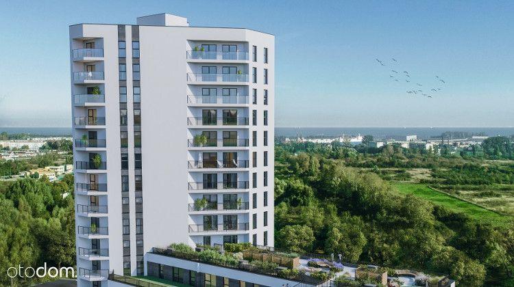 Bezp, 3-pokoje, 56 m, 16 piętro, widok na morze
