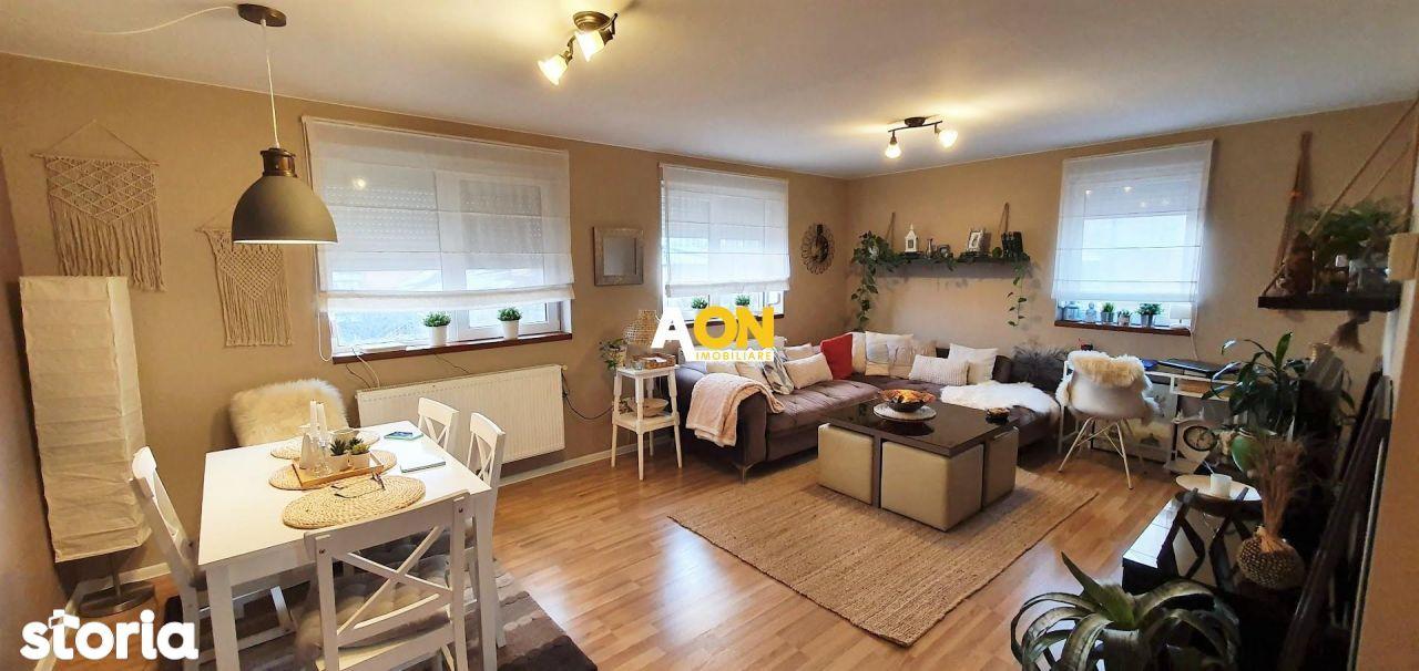 Apartament 3 camere, 120 mp utili, mobilat, utilat, cu garaj, la vila