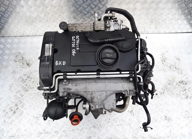 06F903023F Alternator VW Passat 2005 2.0 TdI motor/bkD - 2