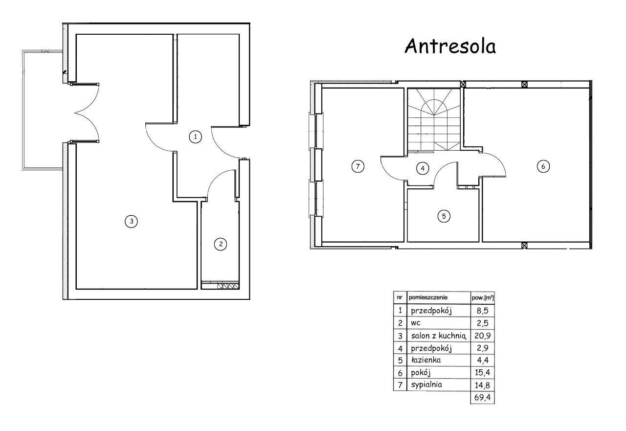 Apartament/2x łazienka/garaż/podłogówka/garderoba/