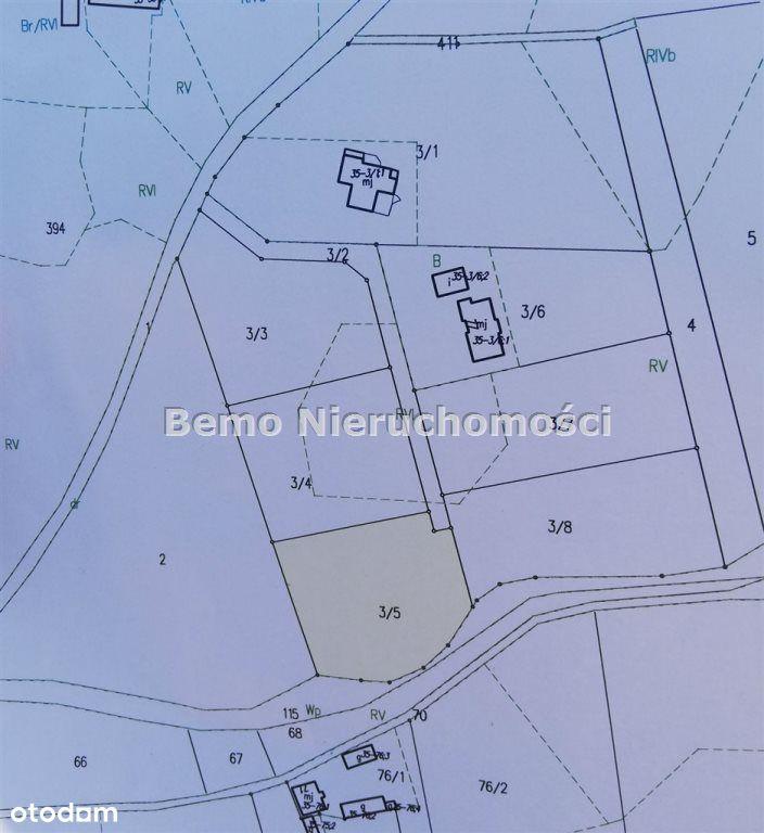Działka, 1 500 m², Lipno