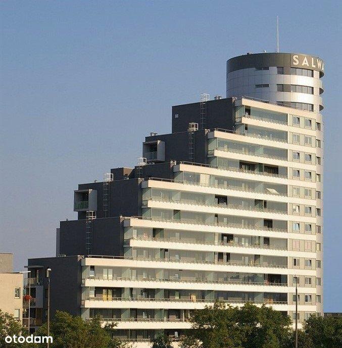 Salwator Tower - basen + siłownia + kort tenisowy.