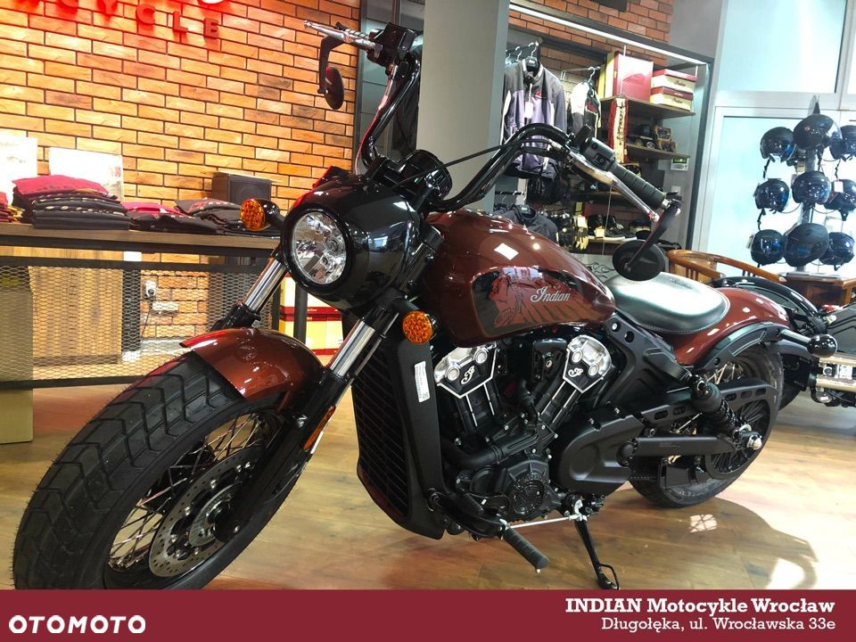 Indian Scout NOWY MODEL Indian Bobber Twenty 2020 Brown Metallic - 5