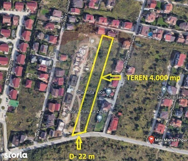 Teren dezvoltare rezidentiala Pipera Drumul Bisericii
