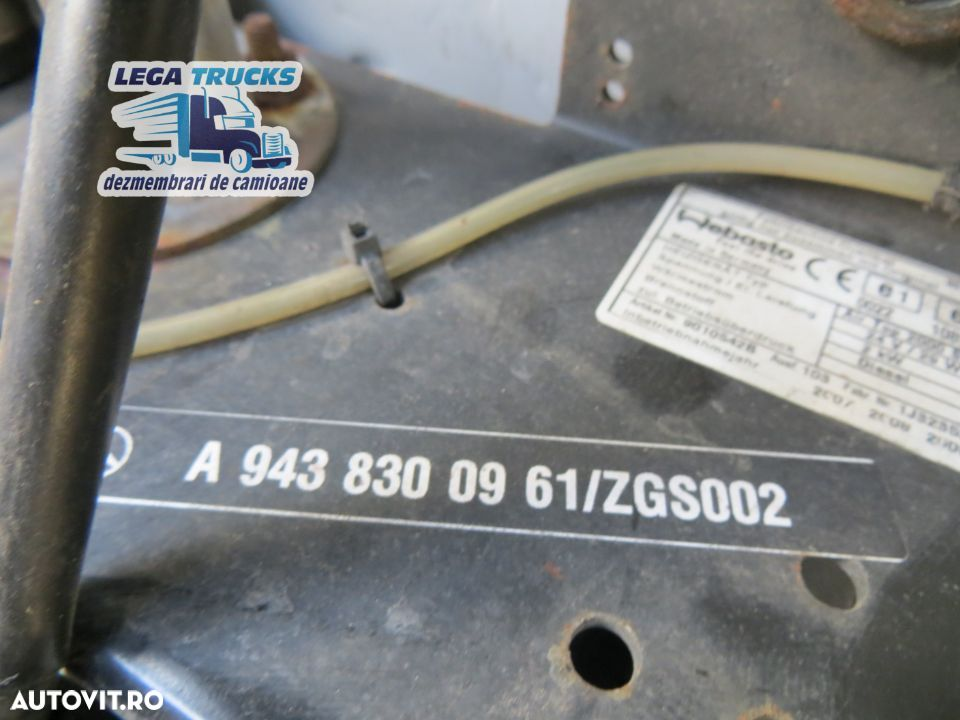 Sirocou sirocol cu suport Mercedes Actros / 9010542B A9438300961 / MED233 - 4