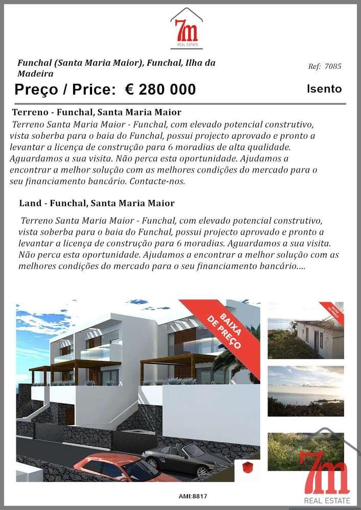 Terreno para comprar, Santa Maria Maior, Funchal, Ilha da Madeira - Foto 12