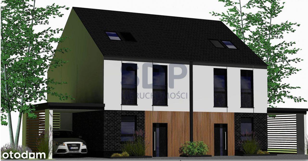 Nowy dom w zabudowie bliźniaczej na Ołtaszynie