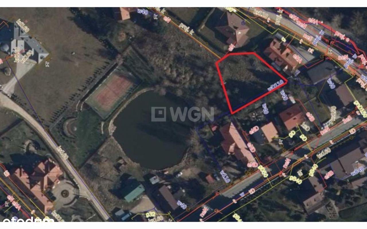 Działka, 990 m², Otomin