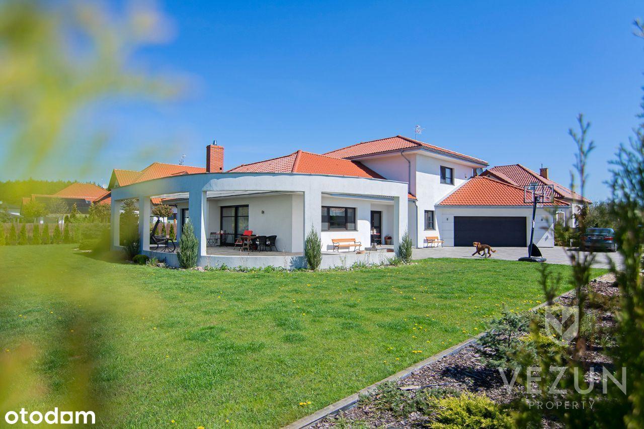Białołęka-Kobiałka, dom 297m2, 6 pokoi, PEREŁKA