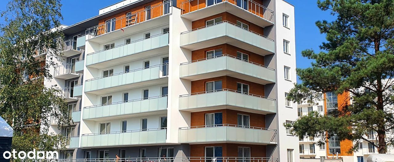 Nowy apartament blisko centrum z tarasem 26m2!