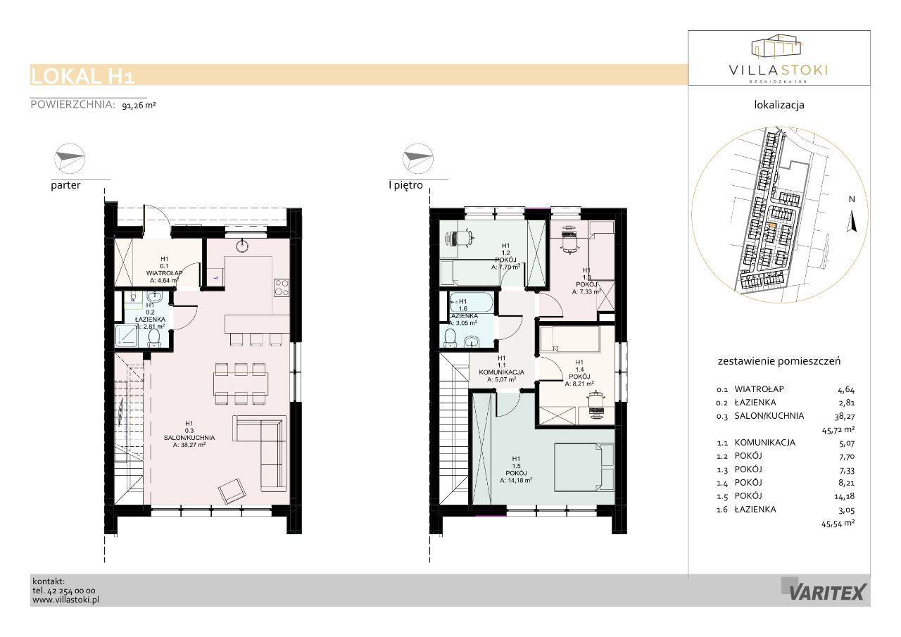 Dom typu 96 - Villa Stoki (dom H.01)
