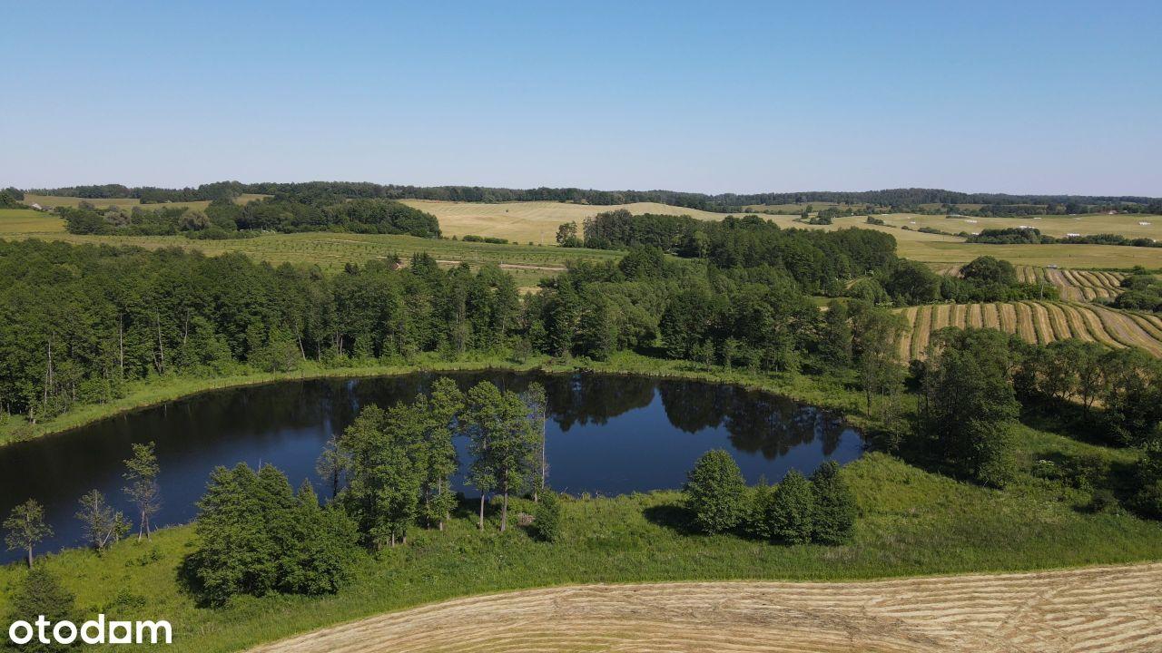 Działka 15 ha z własnym jeziorem o wielkości 5ha