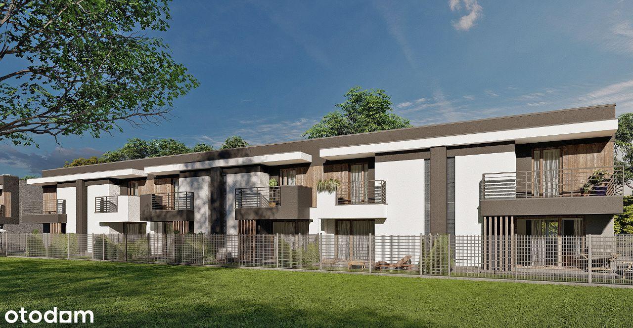 Mieszkania dupoziomowe szeregowe 75m2 ul. Krótka