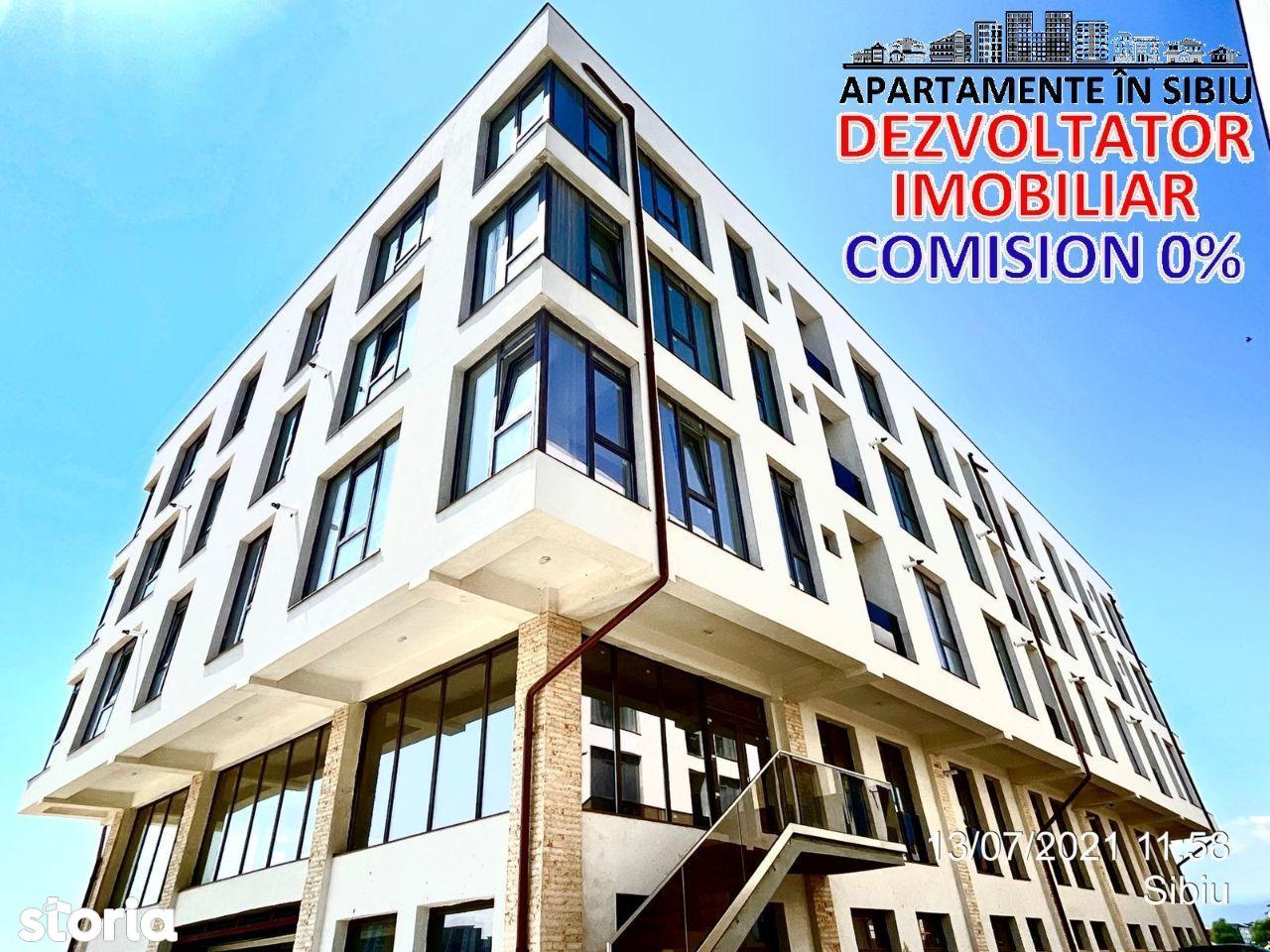 Azure Residence Sibiu Apartament cu 2 camere str. Doamna Stanca nr. 55