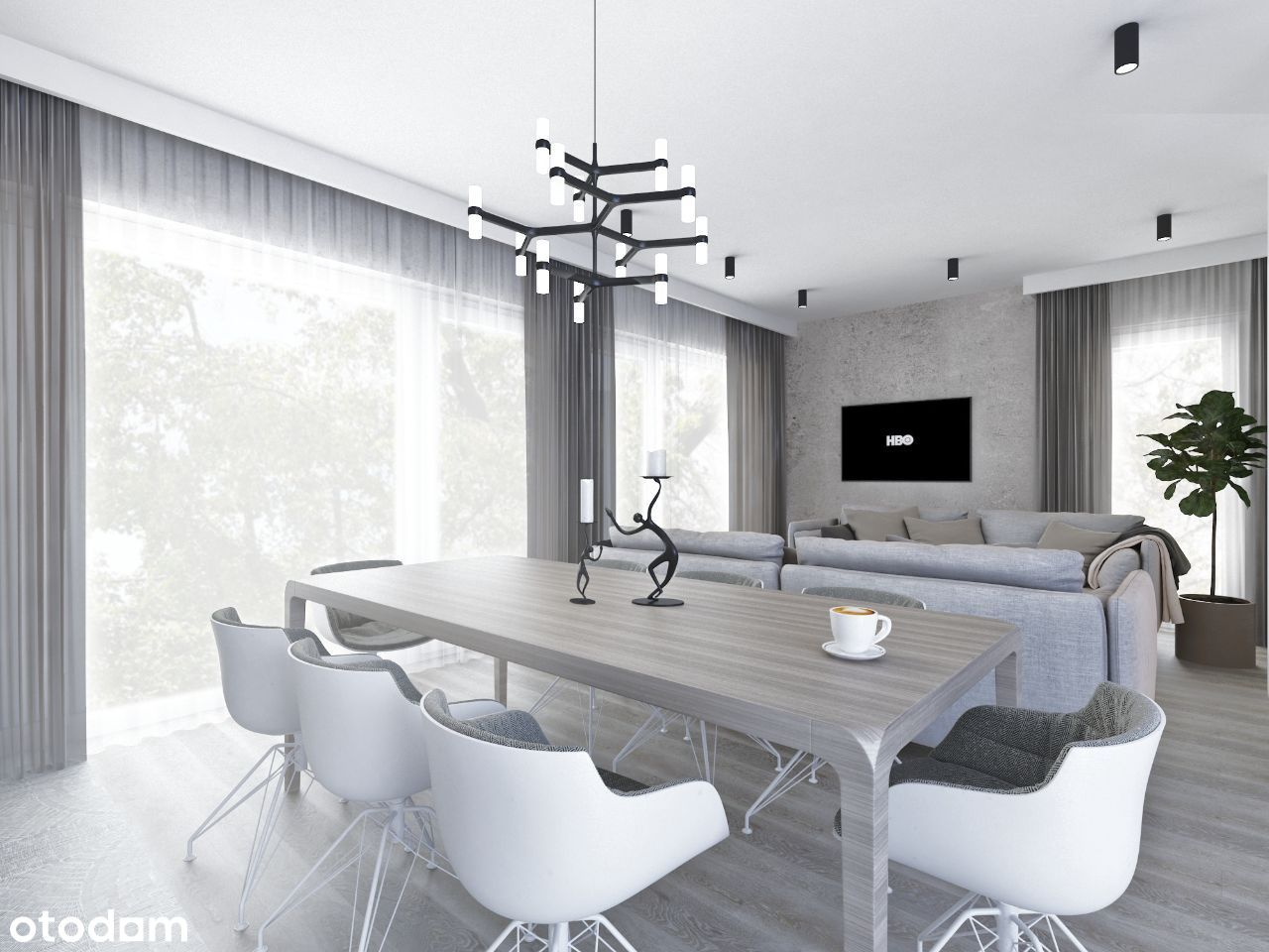 Apartament 2-pokojowy 53,53 m2 z balkonem