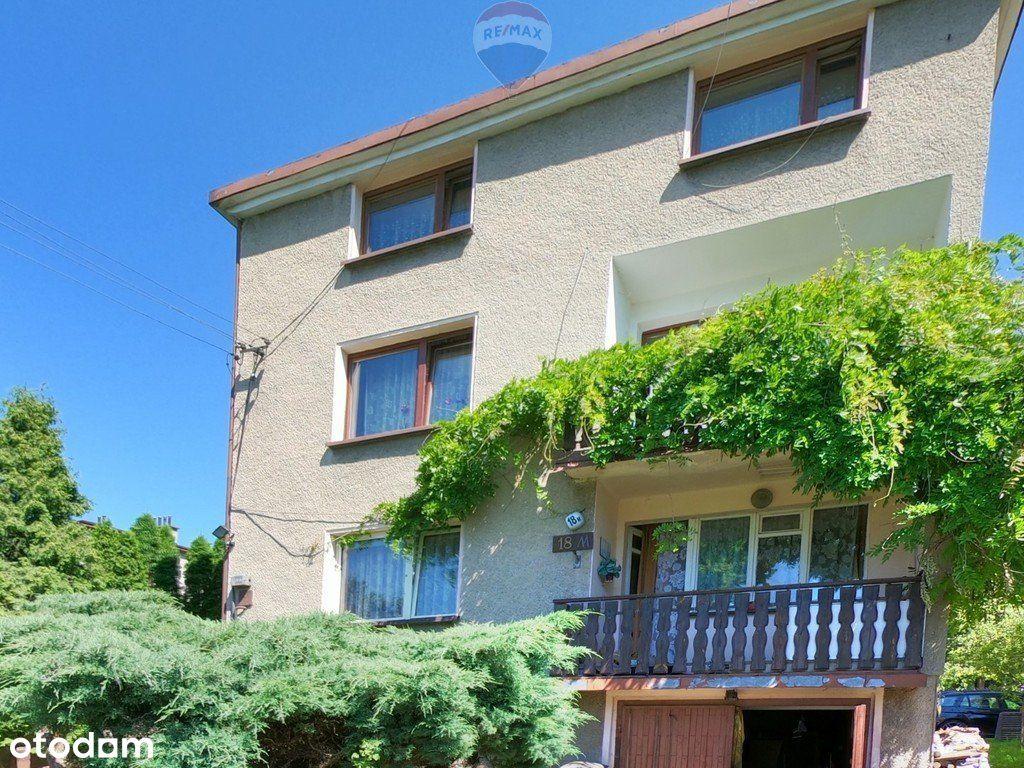 Wojkowice Dom 300m²: 1 lub 2 mieszkania + warsztat