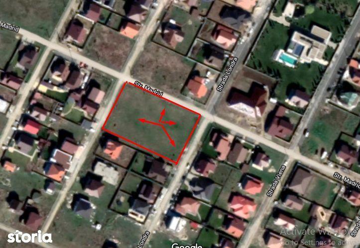 Teren constructie case 3500m2 Vladimirescu