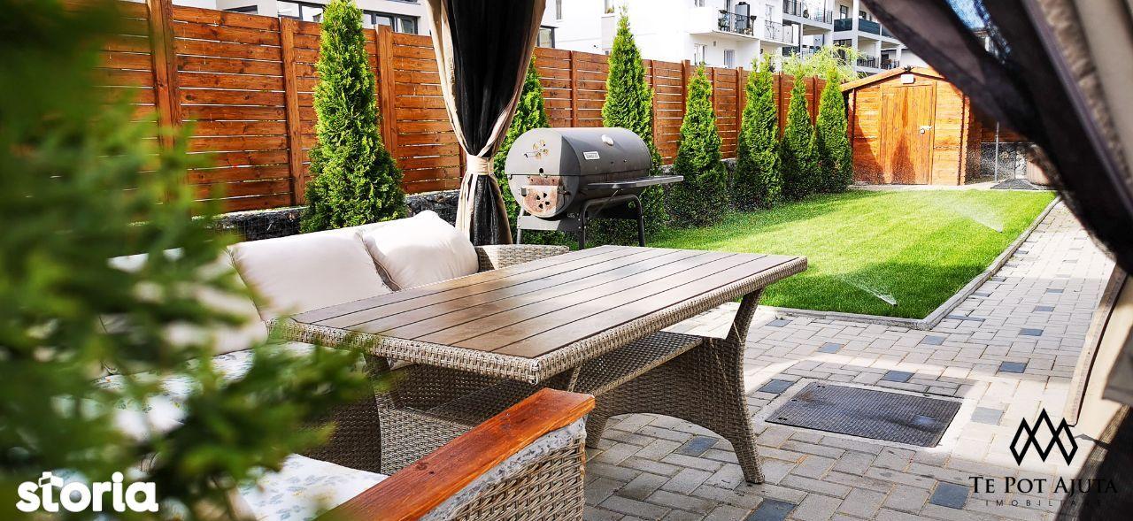 """Apartament elegant cu Grădină și Intrare privată – """"ca la casă""""!"""