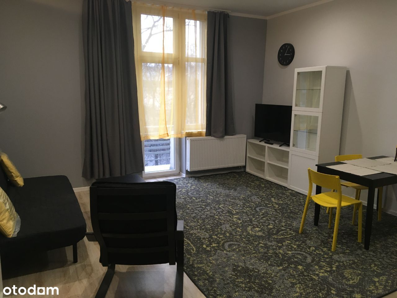 Mieszkanie 46m ścisłe centrum Sosnowca- umeblowane