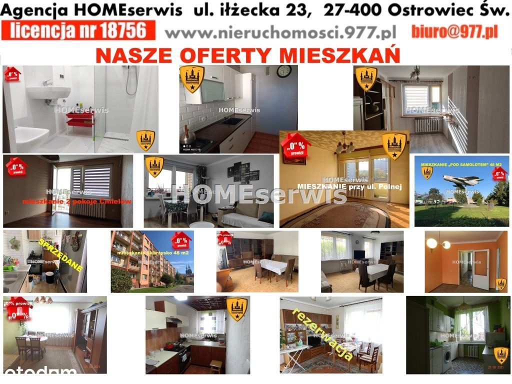 Mieszkania na sprzedaż w ofercie agencji Homeserwi
