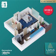 LĂPUŞ Residence - Apartamente De LUX - Garsoniera Tip 1