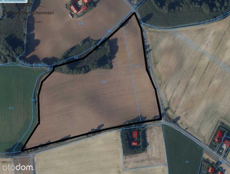 Na sprzedaż ziemia rolna 4,69ha Kl.llla i lllb