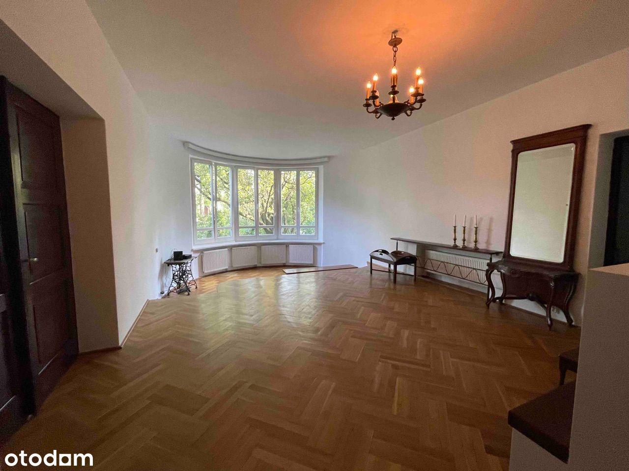 Piękne mieszkanie 135m2 w willi na StarymMokotowie