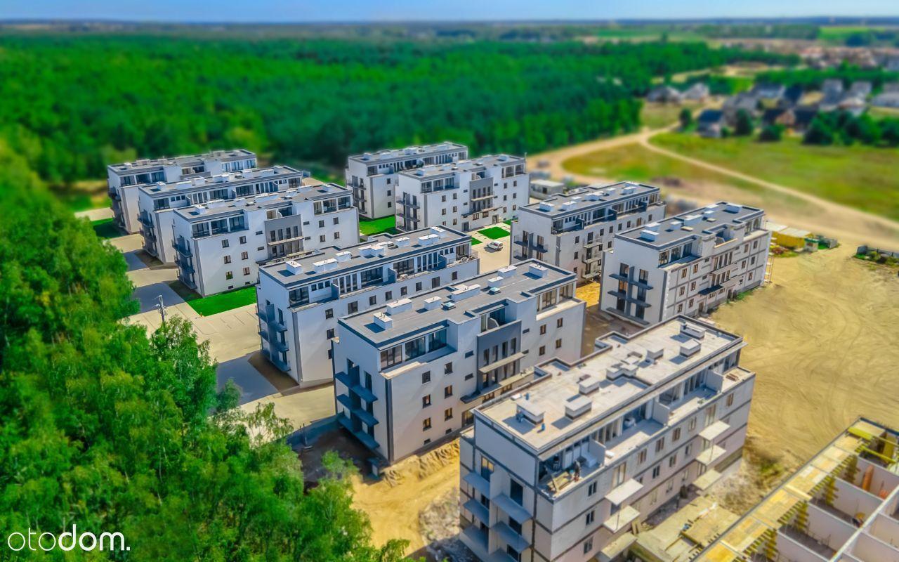 Mieszk 4pok z balkonem i tarasem przy lesie!